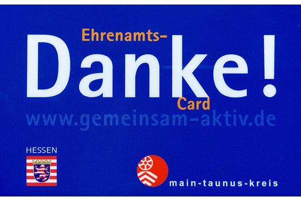 Ehrenamts-Card des Main-Taunus-Kreises